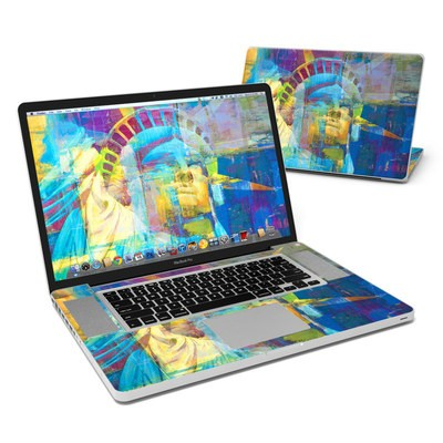 MacBook Pro 17in Skin - Face of Freedom