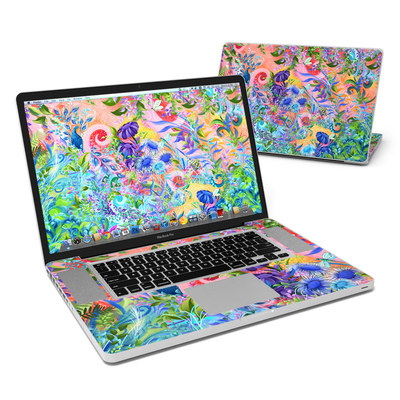 MacBook Pro 17in Skin - Fantasy Garden