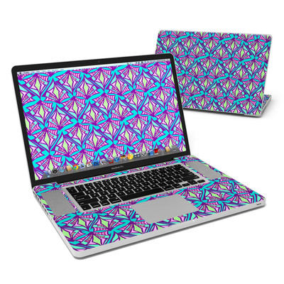 MacBook Pro 17in Skin - Fly Away Teal