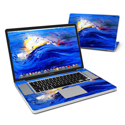MacBook Pro 17in Skin - Feeling Blue