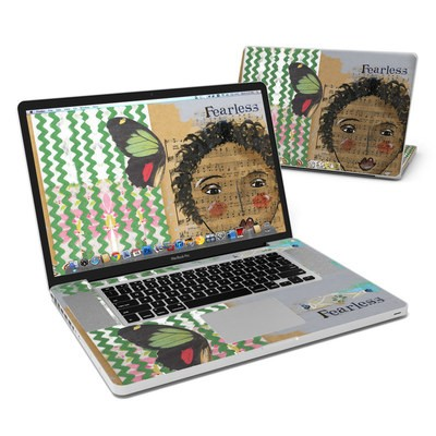 MacBook Pro 17in Skin - Fearless Heart