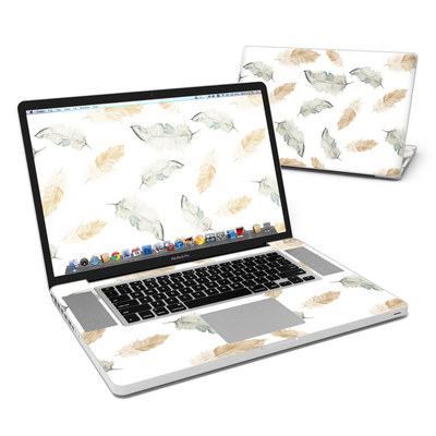 MacBook Pro 17in Skin - Feathers