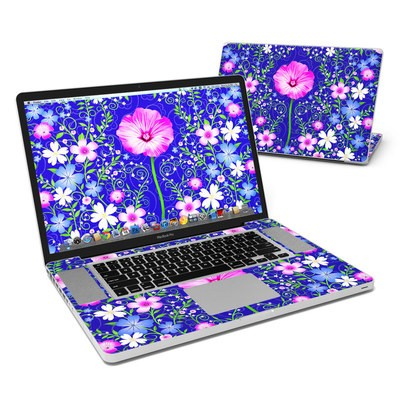 MacBook Pro 17in Skin - Floral Harmony