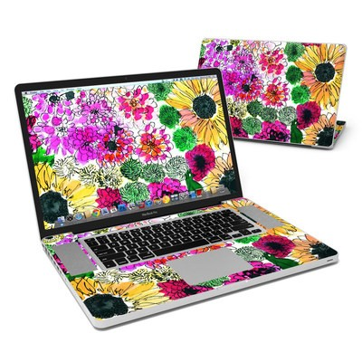MacBook Pro 17in Skin - Fiore