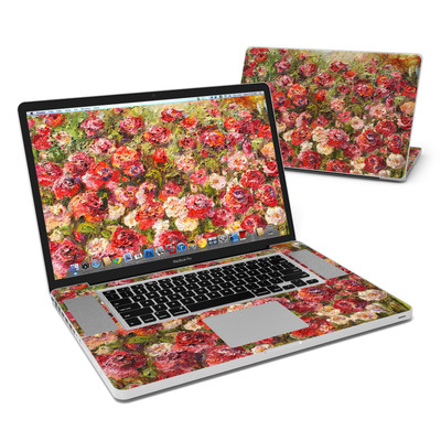MacBook Pro 17in Skin - Fleurs Sauvages