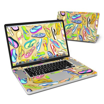 MacBook Pro 17in Skin - Flip Flops