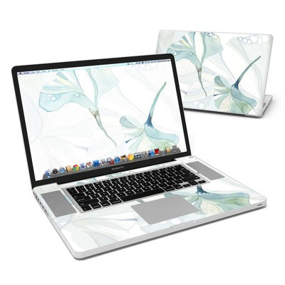 MacBook Pro 17in Skin - Floating Gingko