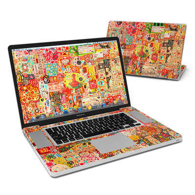 MacBook Pro 17in Skin - Flotsam And Jetsam