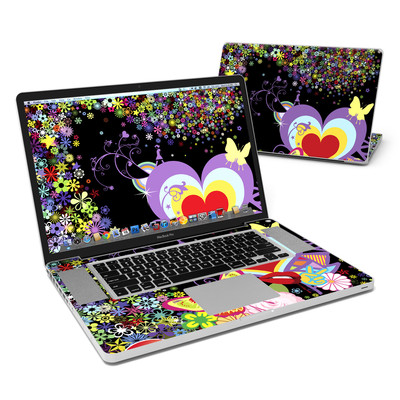 MacBook Pro 17in Skin - Flower Cloud