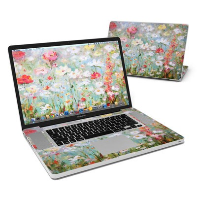 MacBook Pro 17in Skin - Flower Blooms