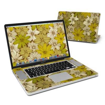 MacBook Pro 17in Skin - Flower Camo