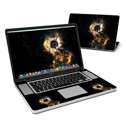MacBook Pro 17in Skin - Flower Fury