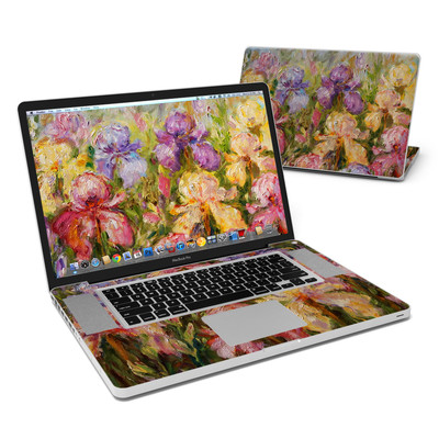 MacBook Pro 17in Skin - Field Of Irises