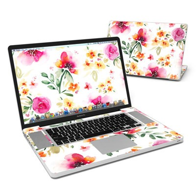 MacBook Pro 17in Skin - Fresh Flowers