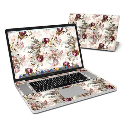 MacBook Pro 17in Skin - Frida Bohemian Spring