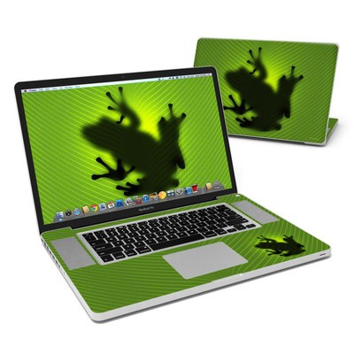 MacBook Pro 17in Skin - Frog