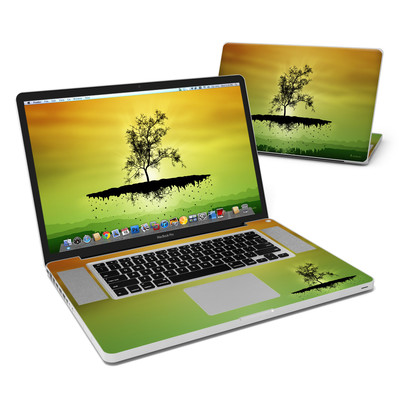 MacBook Pro 17in Skin - Flying Tree Amber