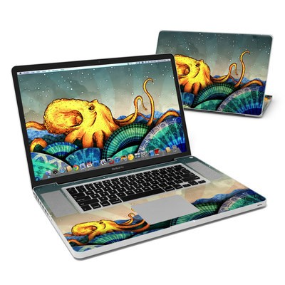 MacBook Pro 17in Skin - From the Deep