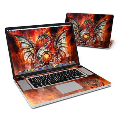 MacBook Pro 17in Skin - Furnace Dragon