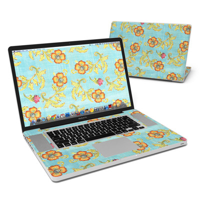 MacBook Pro 17in Skin - Garden Jewel