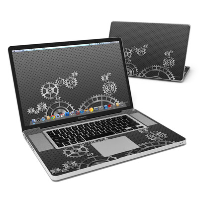 MacBook Pro 17in Skin - Gear Wheel