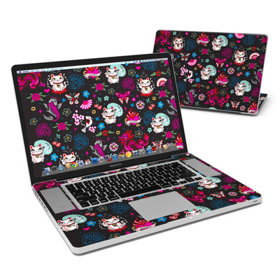 MacBook Pro 17in Skin - Geisha Kitty