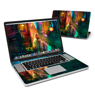 MacBook Pro 17in Skin - Gypsy Firefly