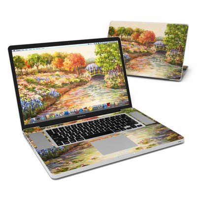 MacBook Pro 17in Skin - Giverny Forever