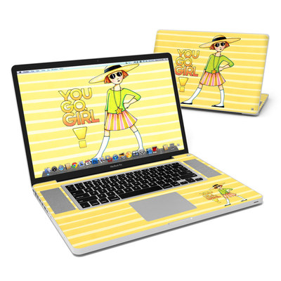 MacBook Pro 17in Skin - You Go Girl