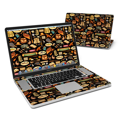 MacBook Pro 17in Skin - Gone Fishing