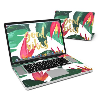 MacBook Pro 17in Skin - Good Vibes