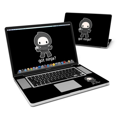 MacBook Pro 17in Skin - Got Ninja