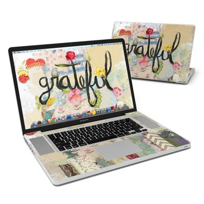 MacBook Pro 17in Skin - Grateful