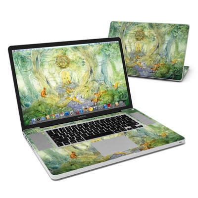 MacBook Pro 17in Skin - Green Gate
