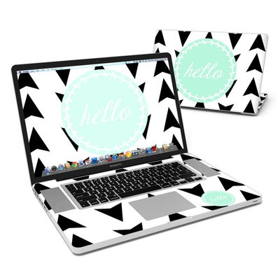 MacBook Pro 17in Skin - Greetings