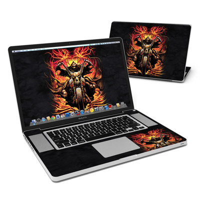 MacBook Pro 17in Skin - Grim Rider