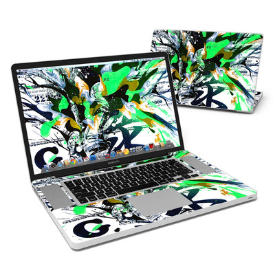 MacBook Pro 17in Skin - Green 1