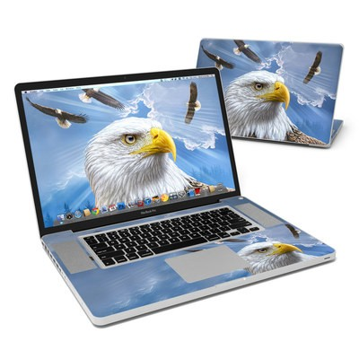 MacBook Pro 17in Skin - Guardian Eagle