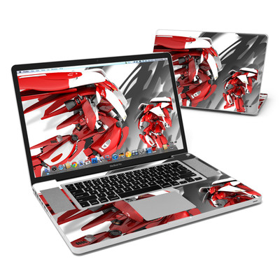 MacBook Pro 17in Skin - Gundam Light
