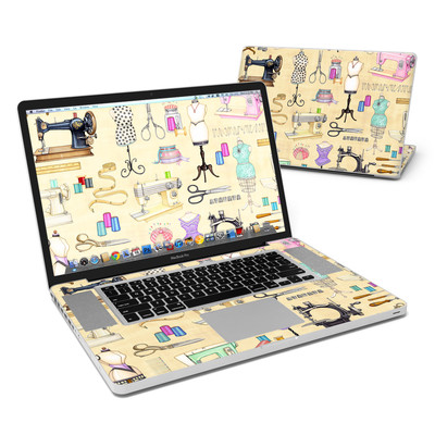 MacBook Pro 17in Skin - Haberdashery