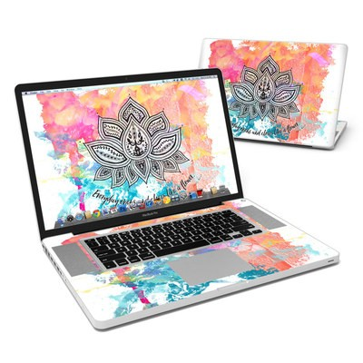 MacBook Pro 17in Skin - Happy Lotus