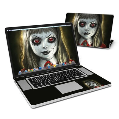 MacBook Pro 17in Skin - Haunted Doll
