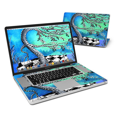 MacBook Pro 17in Skin - Haunted Tree