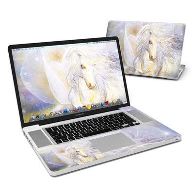 MacBook Pro 17in Skin - Heart Of Unicorn
