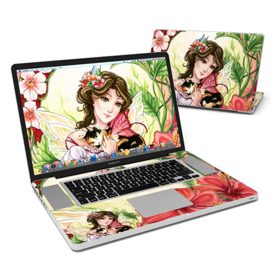 MacBook Pro 17in Skin - Hibiscus Fairy