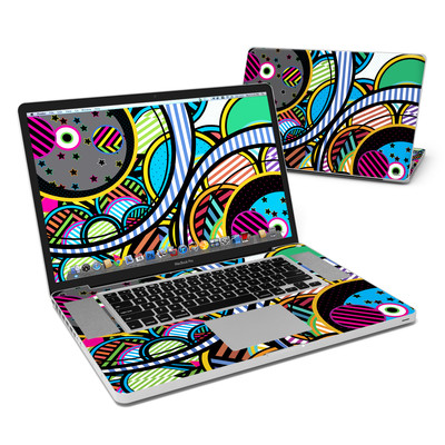 MacBook Pro 17in Skin - Hula Hoops