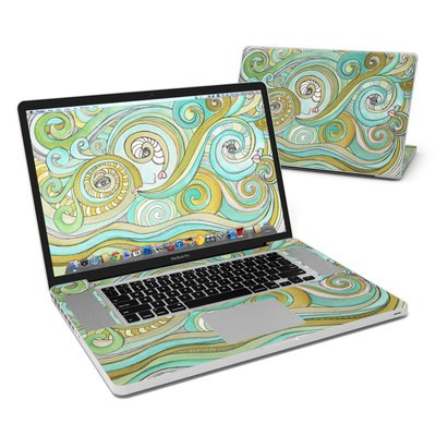 MacBook Pro 17in Skin - Honeydew Ocean