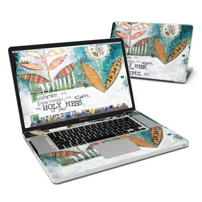 MacBook Pro 17in Skin - Holy Mess
