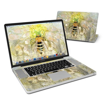 MacBook Pro 17in Skin - Honey Bee