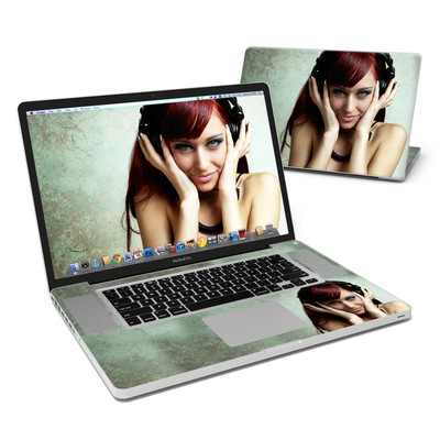 MacBook Pro 17in Skin - Headphones
